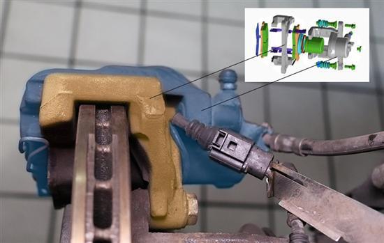 制动总泵的结构图片
