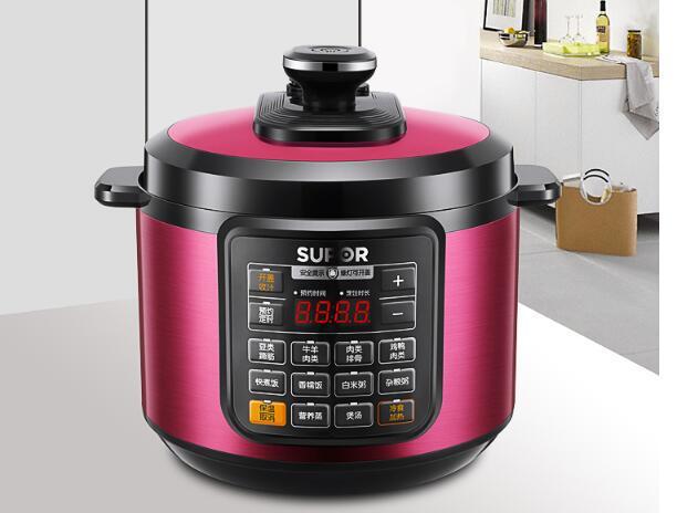 轻松下厨房,5 升电压力锅约美味图片