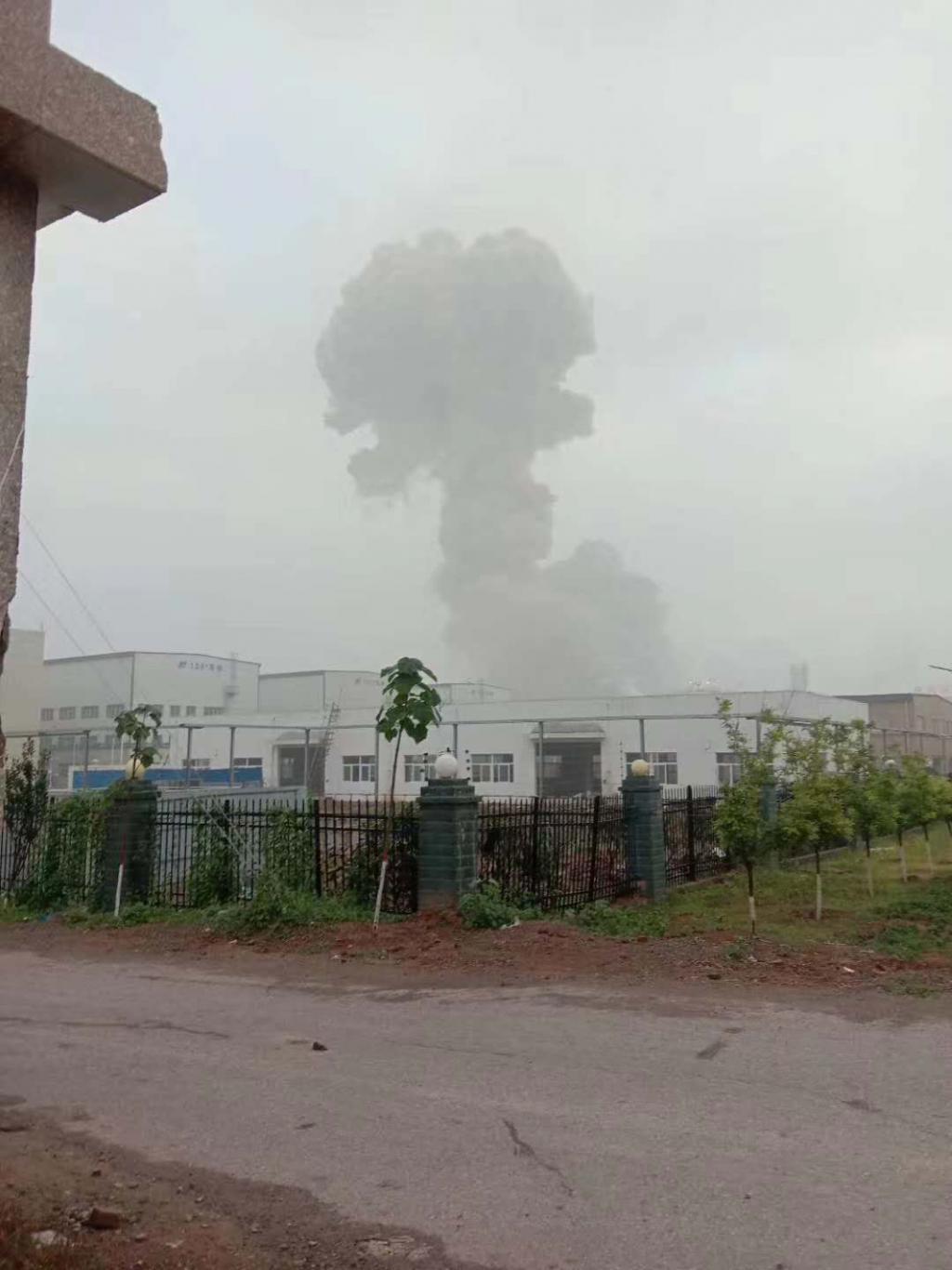 邯郸市肥乡区发生一起特气泄漏事故,无