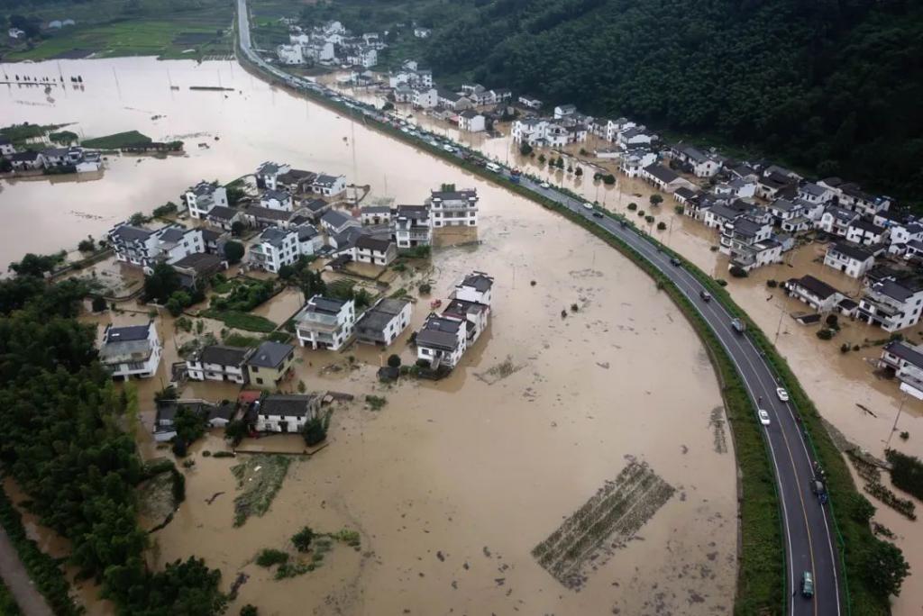 洪水接触的食物需丢弃