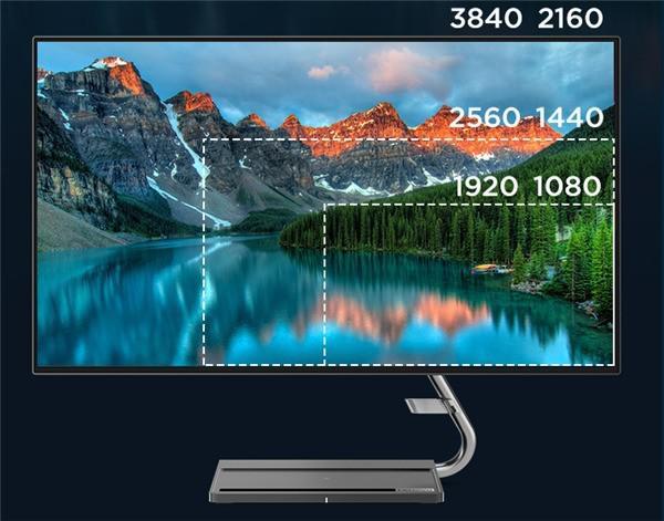 联想 Qreator 27 显示器 : 屏幕自发声技术