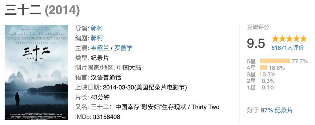 《三十二》影评:国产 9.5,一夜翻红?7 年零差评,如今更震撼!