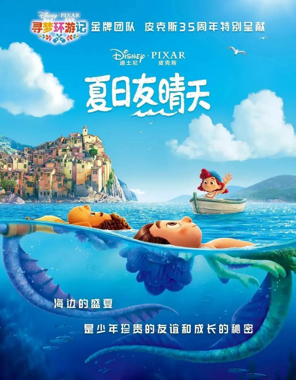 《夏日友晴天》影评:皮克斯这部神作,被严重低估!
