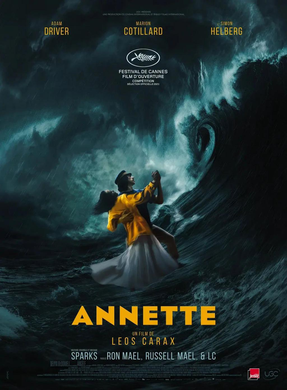 《安妮特》影评:杀妻控女,大胆隐喻,这部得奖的神片美到犯规